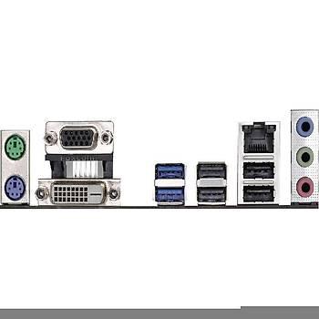ASROCK Asrh110M-Dvs-R3 Sc-1151 H110M-Dvs Ddr4 2133Mhz Matx Anakar