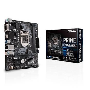 Asus Prýme H310M-R Sc-1151 H310 Ddr4 2666Mhz M2 Intl Matx Intel Anakart