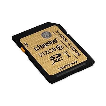 Kingston SDA10/512GB 512 GB SDXC Class10 Uhs-I SD Hafýza Kartý