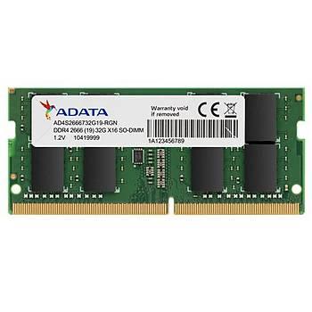 Adata AD4S2666J4G19-S 4 GB DDR4 2666MHz CL19 Notebook Bellek