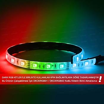 Dark DKCFLED 35cm Ultra Brýght RGB Led Þerit 21x Led 4Pin Baðlantýlý Kit