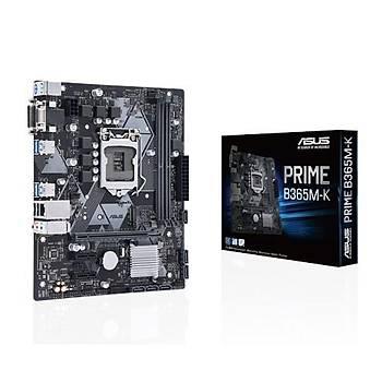 Asus PRIME B365M-K SC-1151 B365 DDR4 2666Mhz M2 ATX Intel Anakart