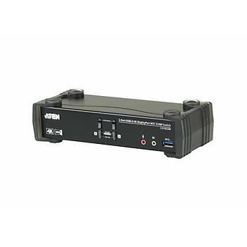 Aten CS1922M 2 Pc Dýsplay Port Mst Kvmp 2 Port USB 3.0 Kvm Switch