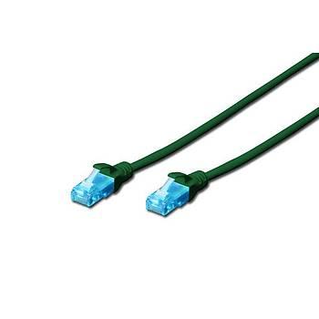 Beek BC-U5070G 7 Mt CAT5E U/UTP AWG26 Yeþil Patch Cord Kablo