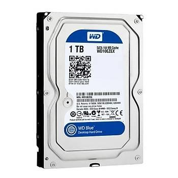 Western Digital WD10EZEX 1 TB 7200Rpm 64MB SATA Blue Bilgisayar Harddisk