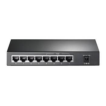 Tp Link TL-SG1008P 8 Port Gigabit 4 Port PoE 65.2W Masaüstü PoE Switch