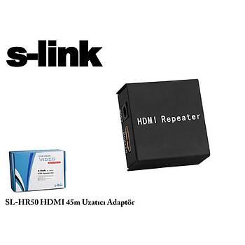 S-Link SL-HR50 45 Mt Exdenter HDMI Sinyal Uzatma Adaptörü
