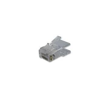 Beek BC-MP6-FR CAT6 RJ45 8P8C 0.8 Yuvarlak Kablo Tipi Konnektör