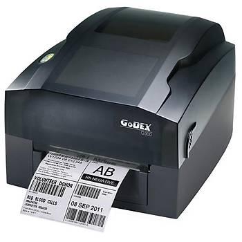 Godex G300 Dýrek Termal - Termal Transfer USB Seri Barkod Yazýcý