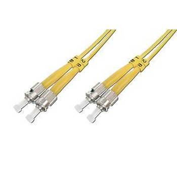 Beek BC-FO-9STST-02 2 Mt ST-ST 09/125 LSZH SingleMode Duplex Patch Cord Kablo