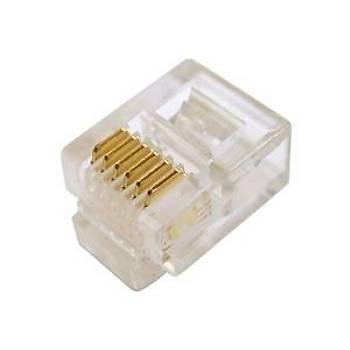 Digitus A-MO 6/6 SF Rj12 6P6C Zýrhsýz 0.6µ Konnektör