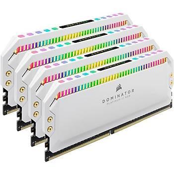 Corsair CMT32GX4M4C3600C18W 32 GB (4x8) DDR4 3600Mhz CL18 Dominatör Platinum RGB Bilgisayar Bellek