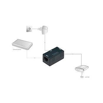 Digitus DN-95002 PoE Pasif Power Injector Kutusu Adaptör Ayrýcý Alýnmalýdýr