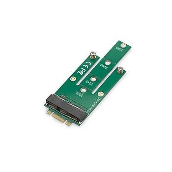 Digitus DS-33154 PCI Express NGFF M2 to mSATA Dönüþtürücü Kart