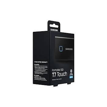 Samsung MU-PC500KWW 500 GB T7 Touch 515/300MB/s USB 3.2 Siyah Harici SSD Harddisk