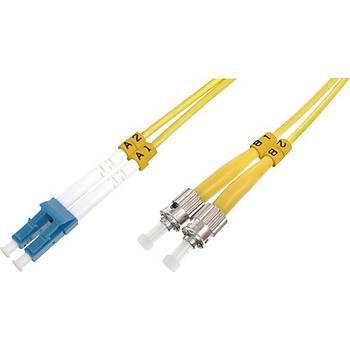 Beek BC-FO-9LCST-01 1 Mt LC-ST 09/125 LSZH SingleMode Duplex Patch Cord Kablo