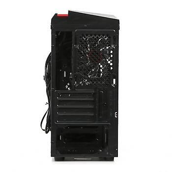 Dark Dkchf50P500 500W F40 2 Kırmızı Led Pencereli  Mıcro Atx Kasa