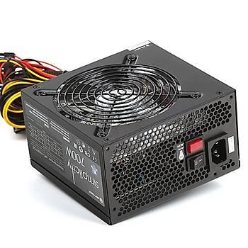 High Power HPG-700ST-T12S 700W 80+ 12cm Kýrmýzý Ledli Fan Güç Kaynaðý