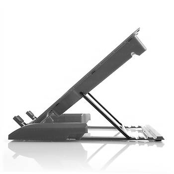 Tx TXACNBERGDUO 11-17 inch Ergoduo 2x14cm Fan 5X Yükseklik Ayarlý 2xUSB Notebook Stand
