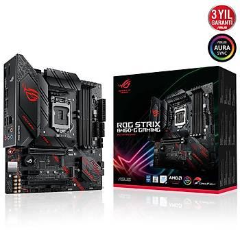 Asus ROG STRIX B460-G GAMING SC-1200 B460 DDR4 2933Mhz M2 mATX Intel Anakart