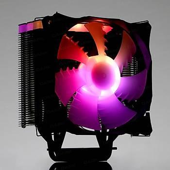 Dark DKCCX126 Freezer X126 Blok Üstü 12 cm ARGB Fanlý Mat Siyah Ýþlemci Soðutucusu
