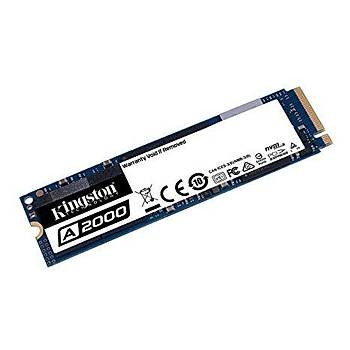 Kingston SA2000M8/500G A2000 500 GB 22x80mm 2200/2000 Mb/s PCIe SSD Harddisk