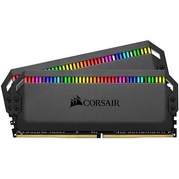 Corsair CMT32GX4M2C3000C15 32 GB (2x16) DDR4 3000Mhz CL15 Dominatör Platinum RGB Bilgisayar Bellek