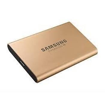 Samsung MU-PA1T0GWW 1 TB T5 540/540Mb/s 2.5 inch USB 3.1 Gold Harici SSD Harddisk