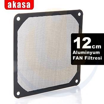 Akasa AK-GRM120-AL01-BK 12 cm Full Aluminyum Temizlenebilir Kasa Filitresi