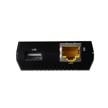 Digitus DN-13020 1 Port USB 2.0 1 Port 10/100 USB Hub + Ethernet Dönüþtürücü