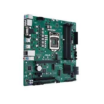Asus PRO Q470M-C/CSM SC-1200 Q470 DDR4 2933Mhz 2xM2 mATX Anakart