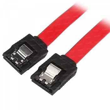 Dark DK-CB-SATA2L45L 45 cm SATA 2 Kilit Mekanizmalı Kırmızı SATA Data Kablosu
