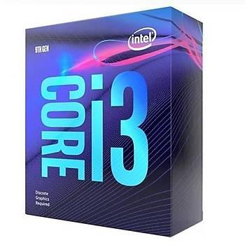 Intel BX80684I39100F CI3 9100F SC 1151 3.6Ghz 6Mb Coffee Lake Intel Ýþlemci