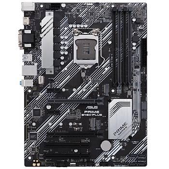 Asus PRIME B460-PLUS SC-1200 B460 DDR4 2933Mhz 2xM2 ATX Intel Anakart