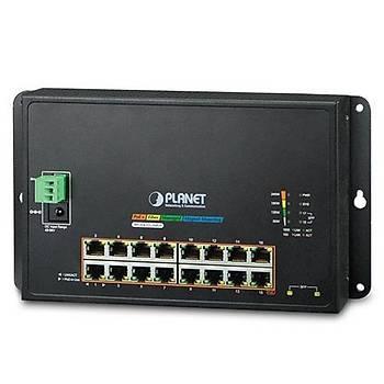 Planet PL-WGS-4215-16P2S 16 Port Gigabit PoE+ 2 Port SFP 240W L2 PoE Endüstriyel Switch
