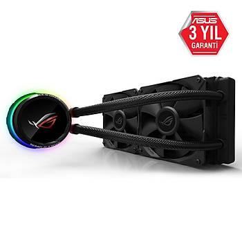 Asus ROG RYUO 240 2x12 cm RGB Fan Intel/Amd Sývý Soðutma Sistemi