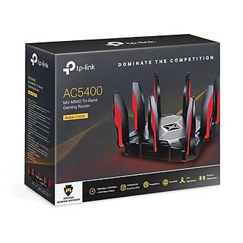 Tp-Link ARCHER C5400X Tree Bant 2.4/5Ghz 8 port 8 Antenli Gigabit Rout