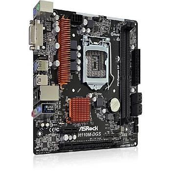 Asrock H110M DGS R3.0 SC-1151 H110 DDR4 2400MHZ ATX Intel Anakart