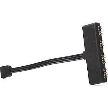 Akasa AK-CBLD02-10BK RGB LED Çoklayýcý Kablo