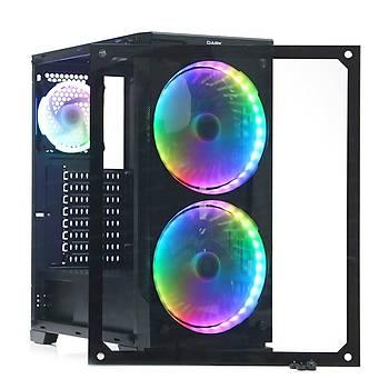 Dark DKCHPRESTIGE600 Ptrestige 600W 80+ 2x20cm 1x12cm RGB Led Fanlý Oyuncu Kasasý