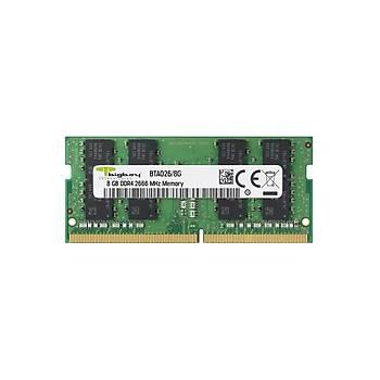 Bigboy BTA026/8G 8 GB DDR4 2666Mhz CL19 Apple Notebook Bellek
