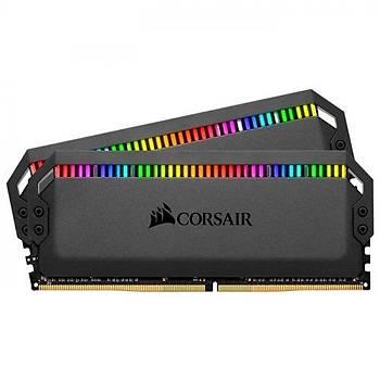 Corsair CMT32GX4M2C3200C16 32 GB (2x16) DDR4 3200Mhz CL16 Dominatör Platinum RGB Bilgisayar Bellek