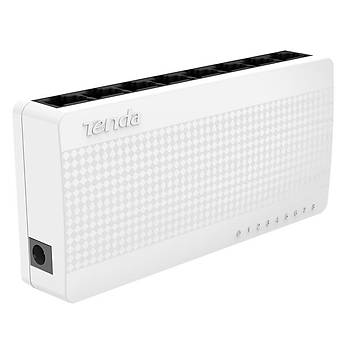 Tenda S108 8 Port 10/100 Mbps Switch Plastik Kasa