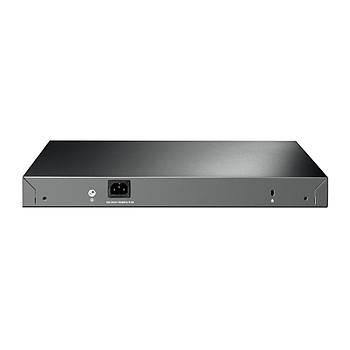 Tp Link T2600G-28MPS (TL-SG3424P) 24 Port Gigabit 4 SFP PoE+ L2 Yöneti