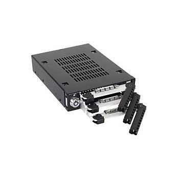 Icy Dock Mb993Sk-B Tough Armor 2.5 inch x 3 Yuva 3.5 inch Çevirici Disk Kýzaðý