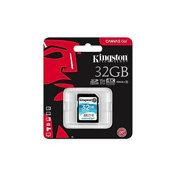 Kingston SDG/32GB 32 GB SDHC Class 3 UHS-I 90/45Mb/s Canvas Go SD Hafýza Kartý