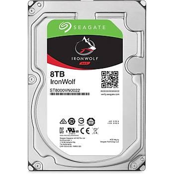Seagate ST8000VN022 8 TB 7200Rpm 256Mb IronWolf Nas Uyumlu Harddisk