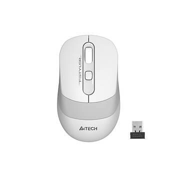 A4 Tech FG10 2000 Dpi 4 Tuþlu Beyaz Siyah Kablosuz Optik Mouse
