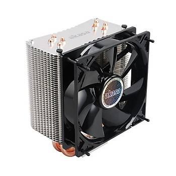 Akasa AK-CC4007EP01 Nero 3 Intel Amd Ryzen 12cm Fanlý Prenium Ýþlemci Soðutucusu
