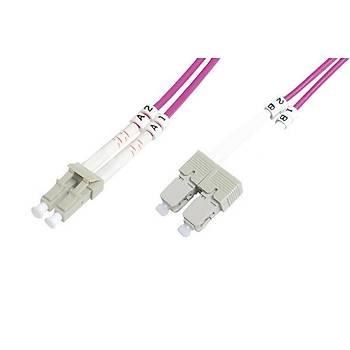 Beek BC-FO-5LCSC-20/4 20 Mt LC-SC 50/125 OM4 Multimode Duplex Patch Cord Kablo